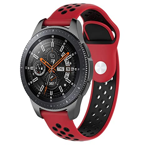 bzline para Samsung Galaxy Watch Pulsera 42 mm/46 mm, Mode Sport ...