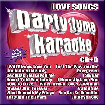 Great karaoke love songs