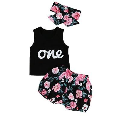 2589d5e0e3948 Iuhan Summer Toddler Infant Kids Baby Girls Outfits Clothes T-Shirt ...