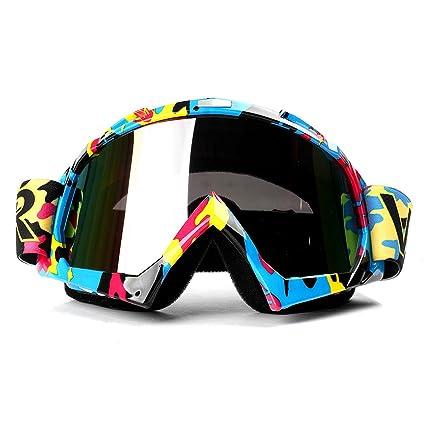 Motocross Goggles Ski Sport Gafas For Motorcycle Dirt Bike ATV Adjustable