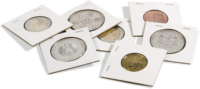 ホッチキス用コインホルダー 直径22.5mmまでのコイン用 100個パック