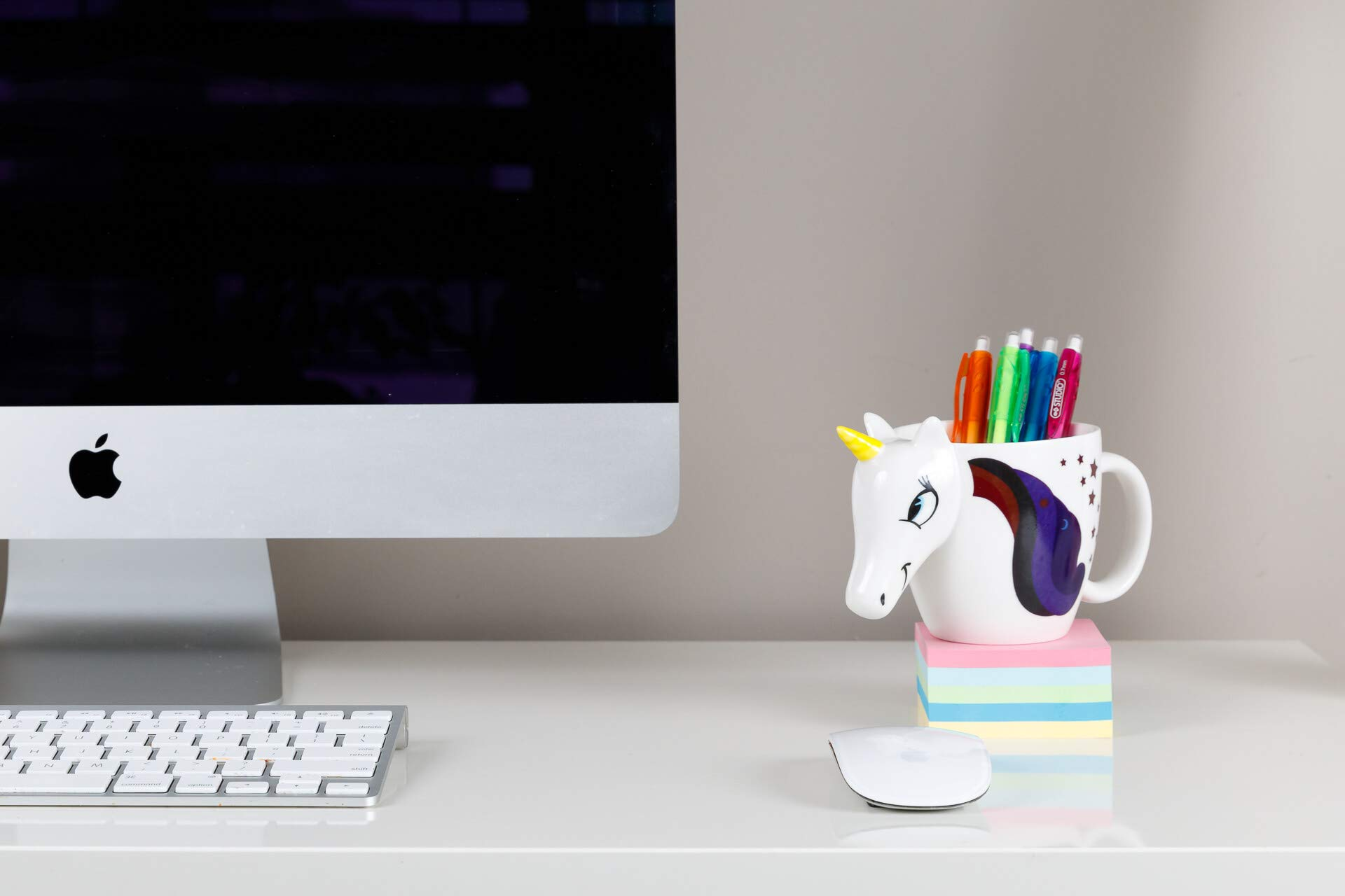 Color Changing Unicorn Mug - 3D Coffee Mugs Rainbow Design, Your morning cup of coffee or tea will never be the same… 6