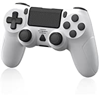 Wireless Controller for PS-4, YAEYA Gamepad Joystick Wireless Remote Pro Controller for PS-4/PRO/SLIM with Motion Motors…