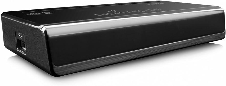 Energy Sistem TDT HD3 - Receptor de TDT (Full HD Tarjeta de lectura integrada), negro