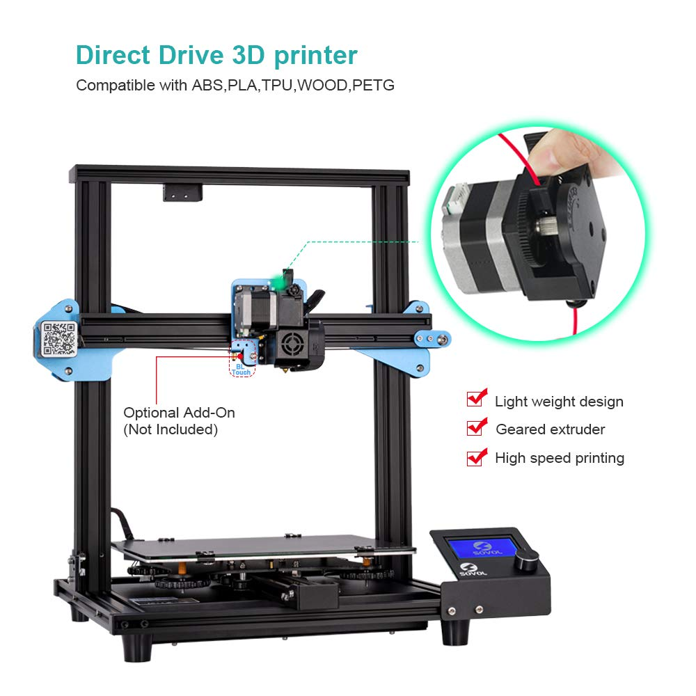 Sovol SV01 Impresora 3D Profesionales Extrusor Direct Drive Doble ...