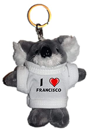Shopzeus Coala de Peluche (Llavero) con Amo Francisco en la ...
