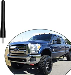 Short Antenna Replacement Designed for Optimized FM//AM Reception POZEL 6 3//4 inches Antenna Compatible with for Ford F150 2009-2019