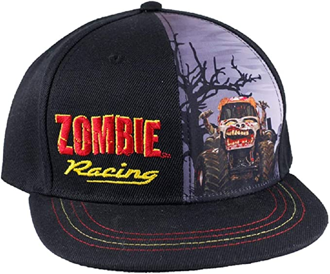 Monster Jam Youth Zombie Racing - Gorra, Color Negro: Amazon.es ...