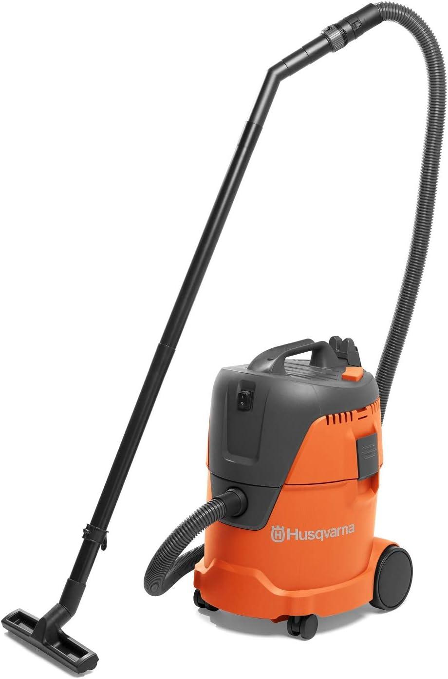 Husqvarna 967983806 WDC 225 Wet & Dry Vacuum Cleaner, Orange