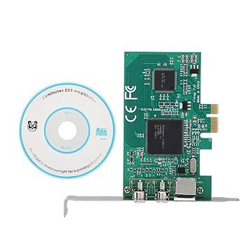 ASHATA Monitoreo de PCIE a AV Tarjeta de Captura de Video HD ...