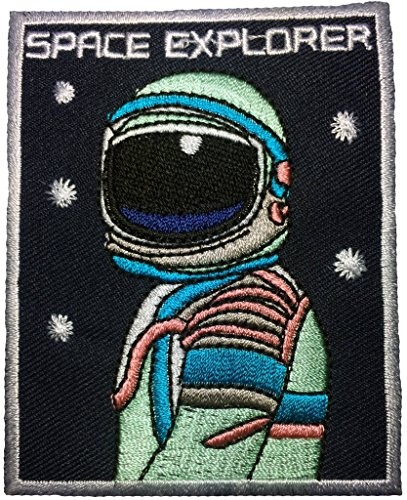 [ARROW Space Explorer W.Program Vector patch 6.5 x 8.5cm Logo Jacket Vest shirt hat blanket backpak shirt Patches Embroidered Appliques Symbol Badge Cloth Sign Costume] (Power Loader Costume Baby)