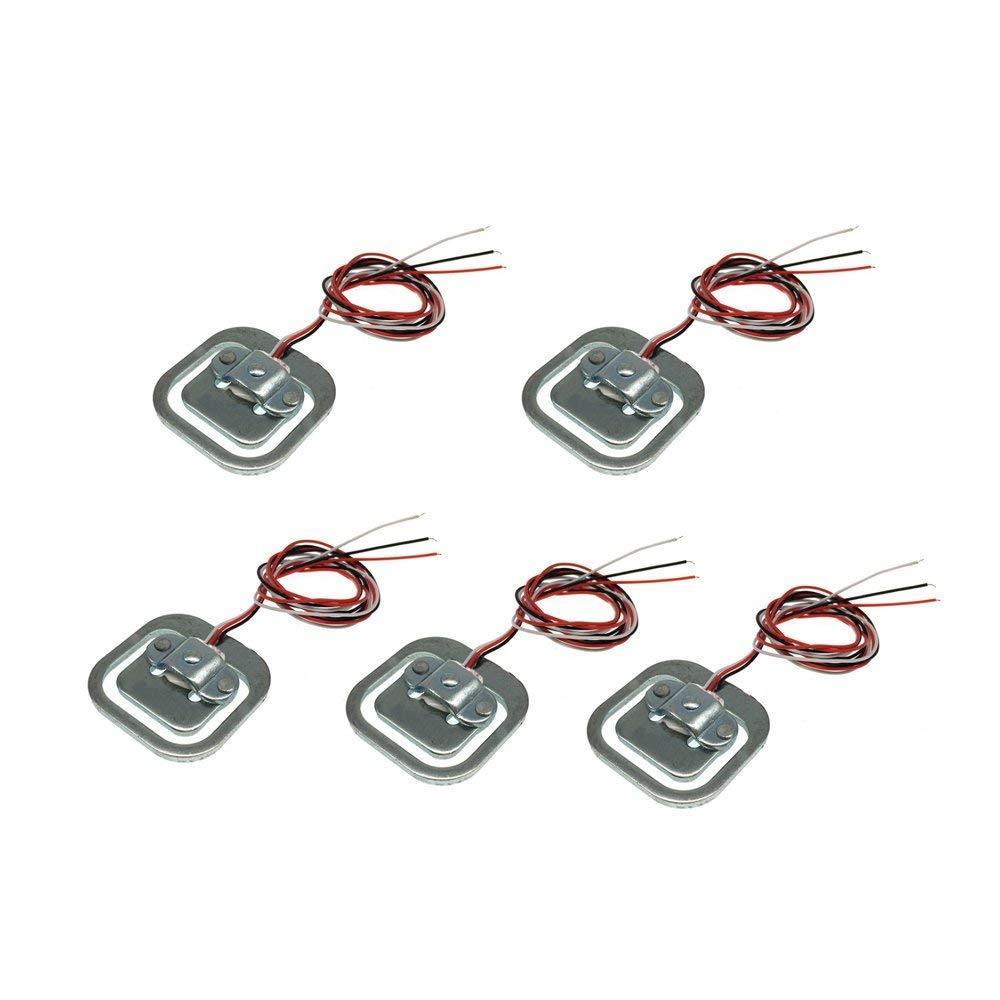 50 kg winwill 4 Unidades de c/élulas de Carga Corporal Resistencia a la tensi/ón Sensor de Peso Sensor de Medio Puente