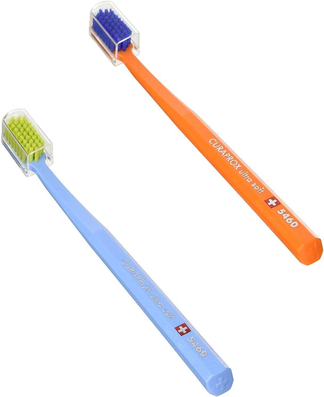 Curaprox CS 5460 Ultrasoft - Cepillo de dientes manual, 1 unidad [modelo surtido]