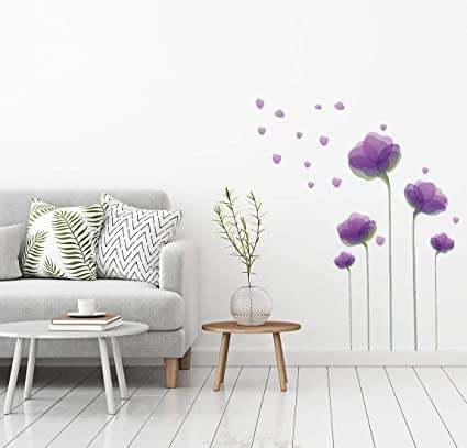 Amazon Com Wall Decals Wall Decor Flower Wall Decals Flower