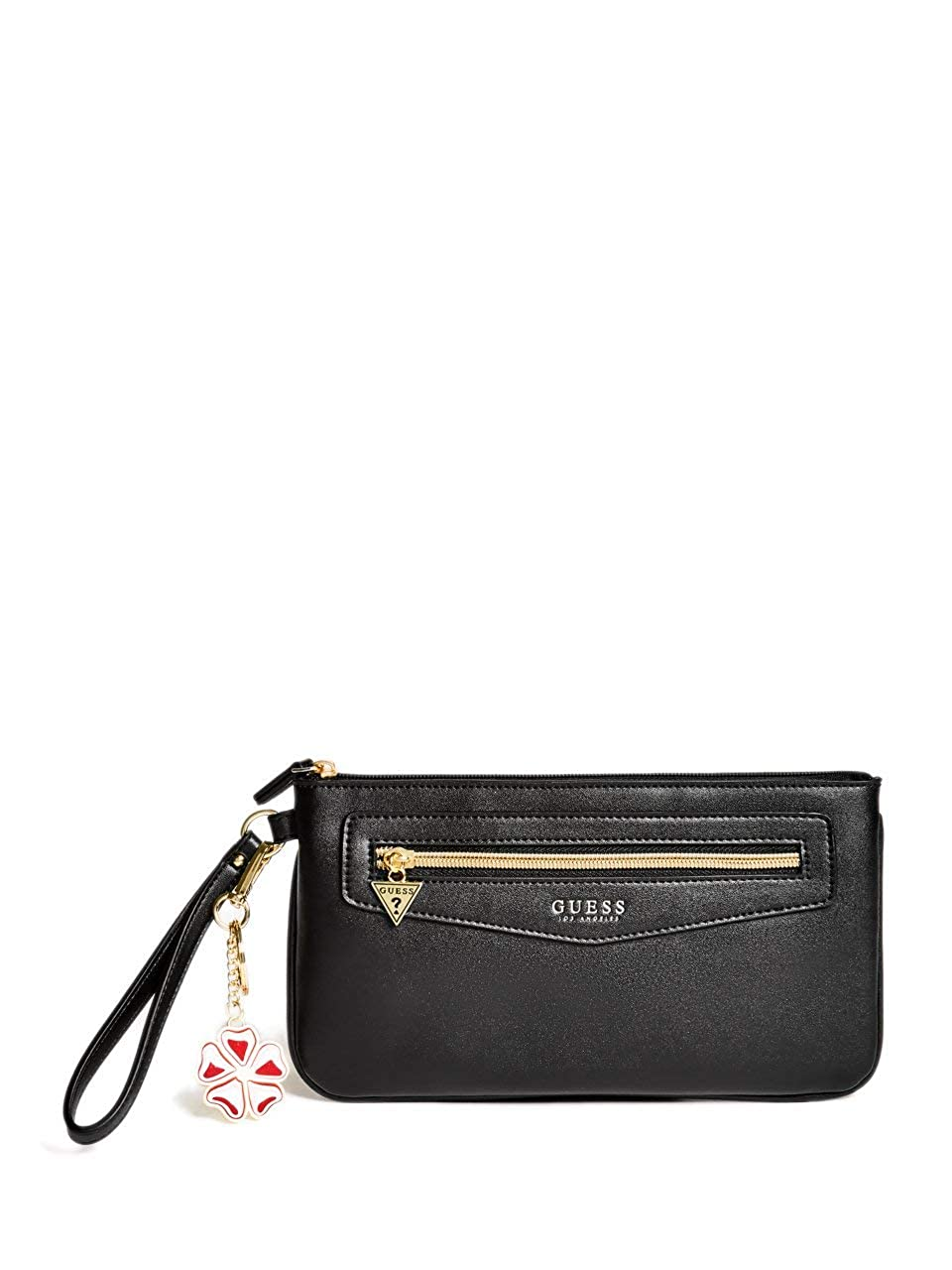 Amazon.com: Guess Factory Mujer Holly Wristlet bolsa, NS ...