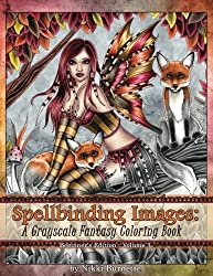 Spellbinding Images: A Grayscale Fantasy Coloring Book: Beginner's Edition (Volume 3)