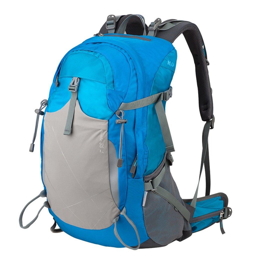GYZ アウトドアバックパック プロフェッショナル 登山バッグ 撥水性 耐摩耗性 キャンプ 旅行 スポーツ ライディングバッグ 男女兼用 B07JYZFTRQ A