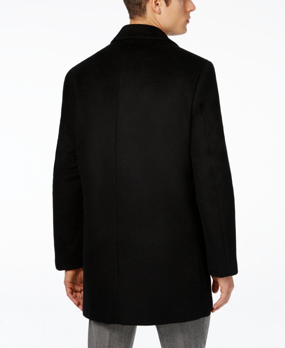 Ralph Lauren Charcoal Herringbone Wool Blend New Men's Coat (40 Short)