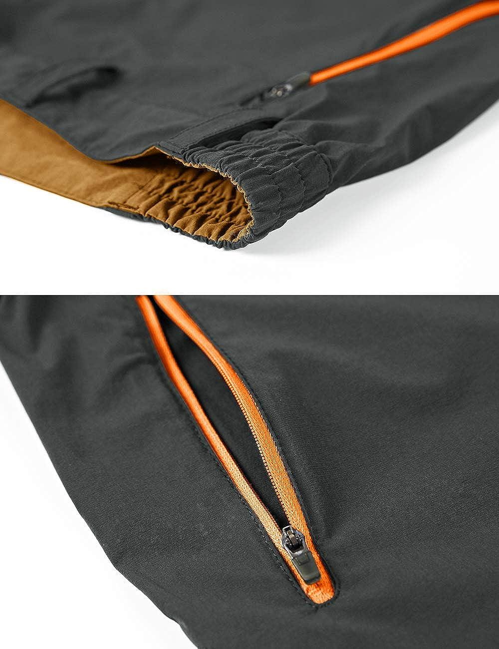 EKLENTSON Mens Outdoor Stretch Waist Thin Quick Drying Shorts Lightweight Slim Fit Cargo Shorts No Belt