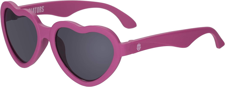 Babiators UV Protection Children's Sunglasses, Pink Heart