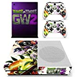 XBOX ONE S VINYLSKIN PLANT VS ZOMBIE GW2 PURPLE STYLISH DESIGN