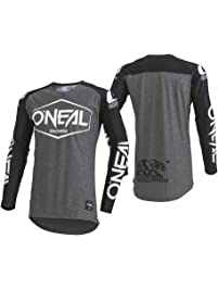 O'Neal Men's Mayhem Lite Jersey (Hexx) Black Large