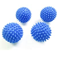 Kungfu Mall Dryer Balls, Tumble Dryer Dryerballs - Pack of 4, Blue