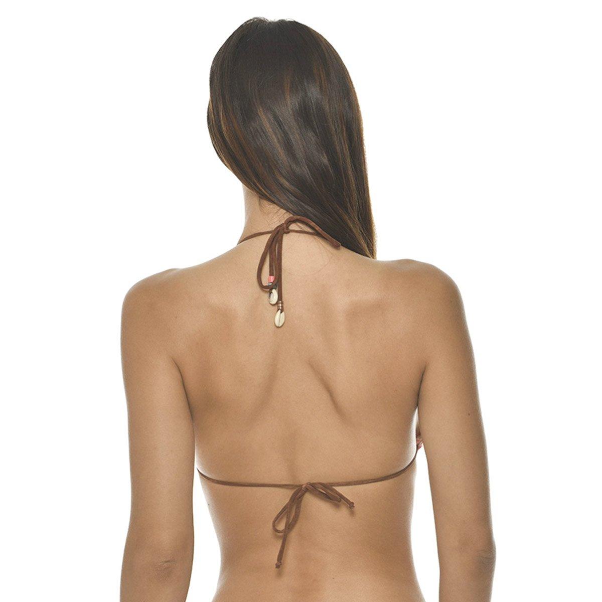 6d106ffd32 BANANA MOON FEBO BOHOSUN, Haut de Bikini Triangle, Orange: Amazon.fr:  Vêtements et accessoires