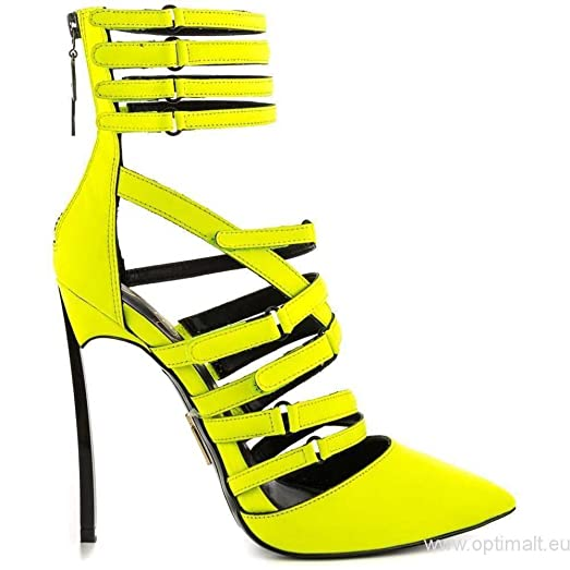 Amazon.com | Lust for Life Women's Krown Citron Neon Yellow High ...