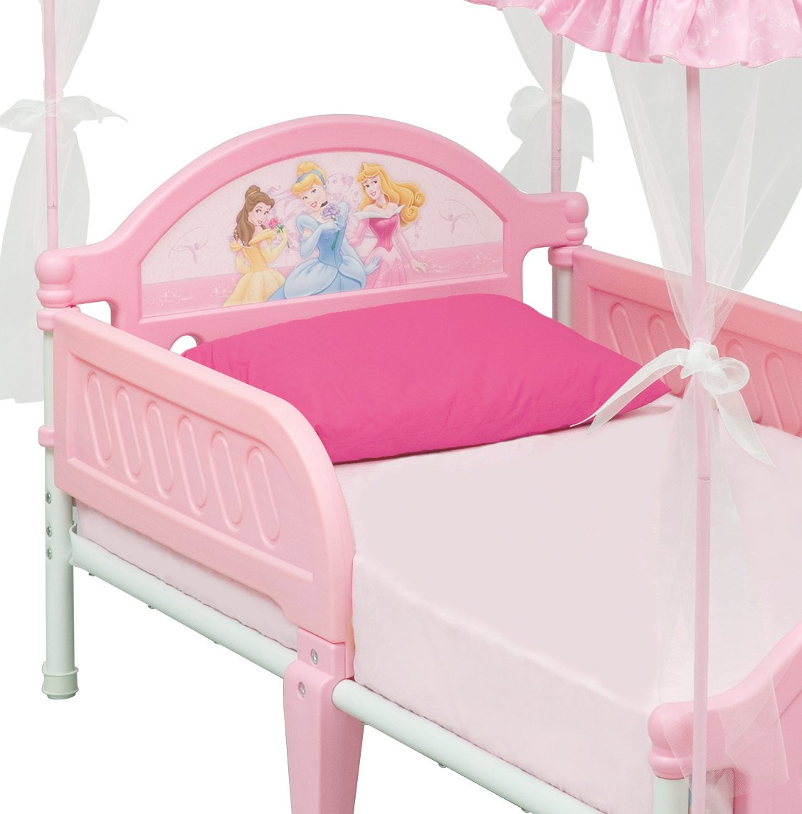 sc 1 st  Amazon.com & Amazon.com: Disney Princess Toddler Bed with Canopy: Toys u0026 Games