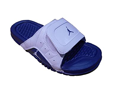 ee0227b9d Image Unavailable. Image not available for. Color  JORDAN HYDRO XII RETRO  BG WHT FRENCH BLUE
