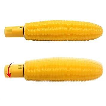 Corn used as a dildo