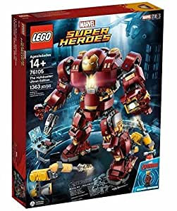 LEGO Super Heroes the Hulk Buster: Lutron Edition 76105 Building Kit (1363 Piece)