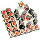 Adraxx Tactile Switch micro Push to ON button Set of 40