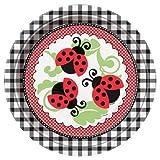 Ladybug Dinner Plates, 8ct