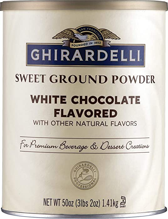 The Best Ghirardelli White Mocha Beverage Mix