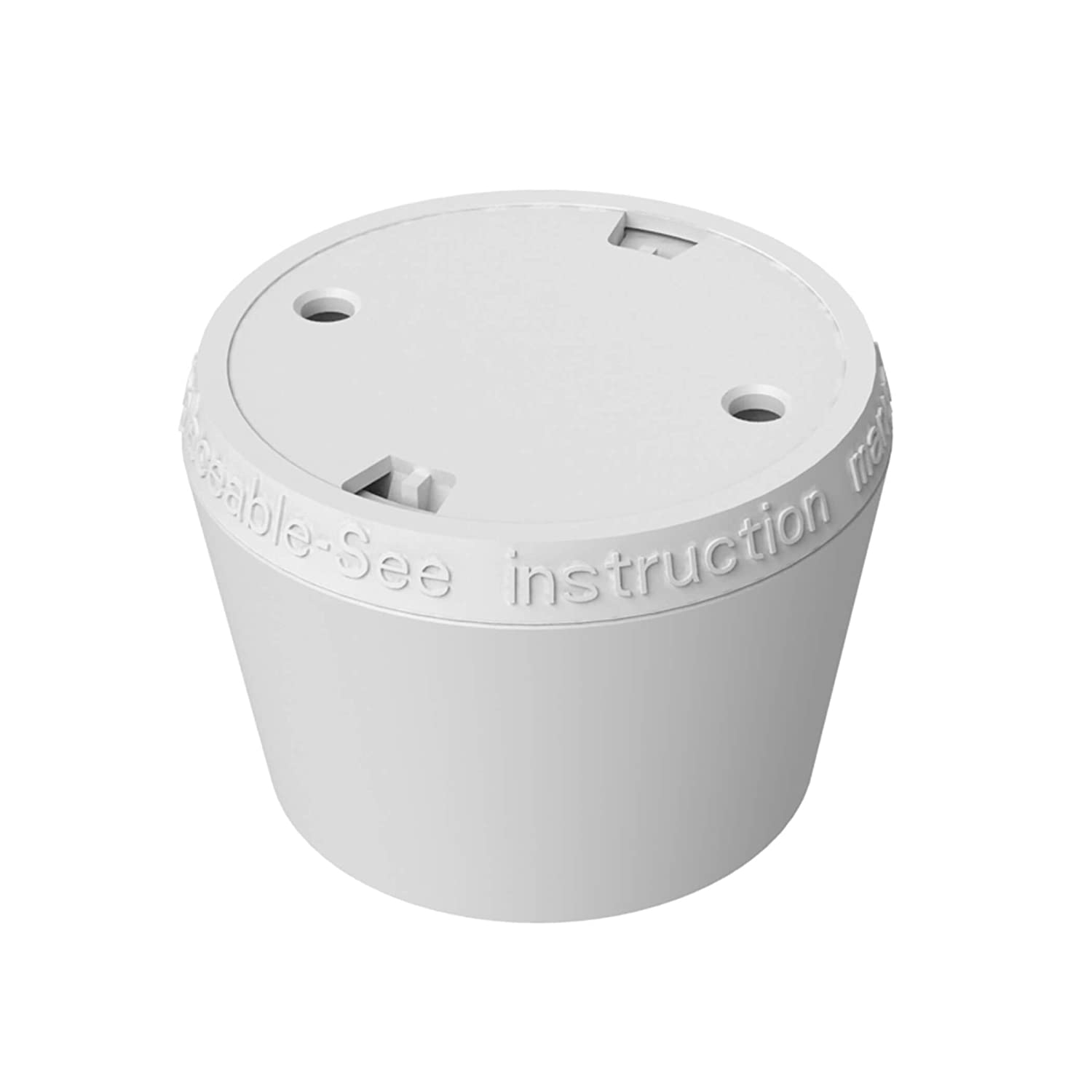 Heat Detector GS403 Mini Heat Detector for Kitchen 3V DC Lithium built-in Battery Battery Operated /Ø50x43,5mm SEBSON Heat Alarm 10 Year Battery