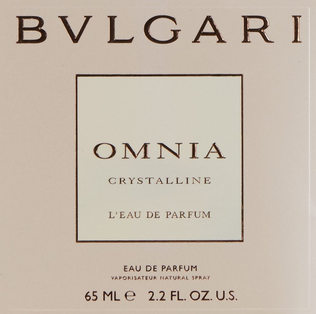 Bvlgari Omnia Crystalline L'eau de Parfum for Women, 2.2 Ounce