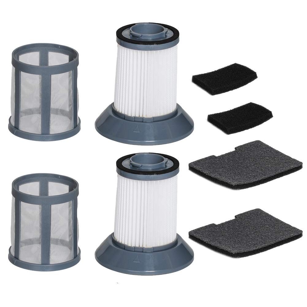 HIFROM Replacement Filter for Bissell Zing Bagless Canister Vacuum 6489 64892 64894 Vacuum Cleaner Filter, Dirt Cup Filter kit (2 Pack)