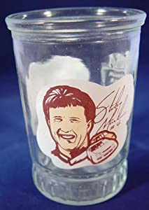 Bama Jelly Jar Sterling Marlin Champion Driver Series #1 Collectible Glass