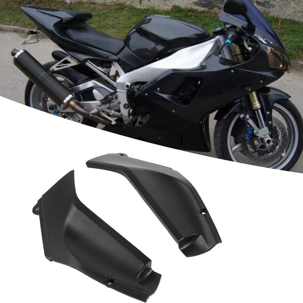 nero Qii lu Motorcycle Coppia di pannelli laterali Pannello di copertura carena sinistra e destra Parte adatta per R1 1998-2001