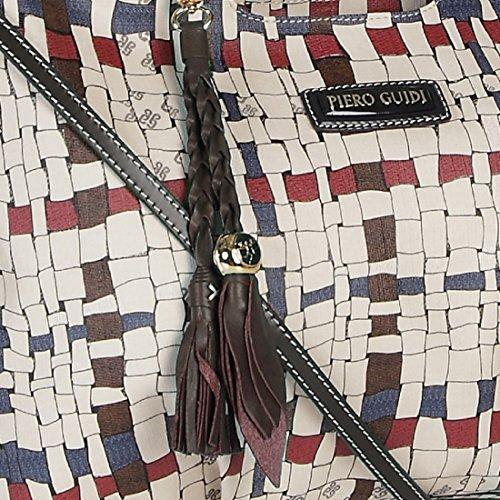 Shopper Piero Guidi Geflecht Art Damen– uOS0mu