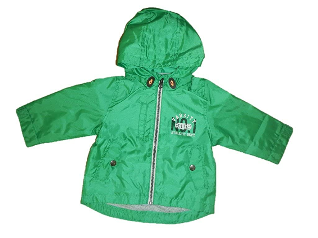 Carters Boys Green Hooded Jacket