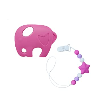 Amazon.com: inchant Chewy collar collar de elefante chewelry ...