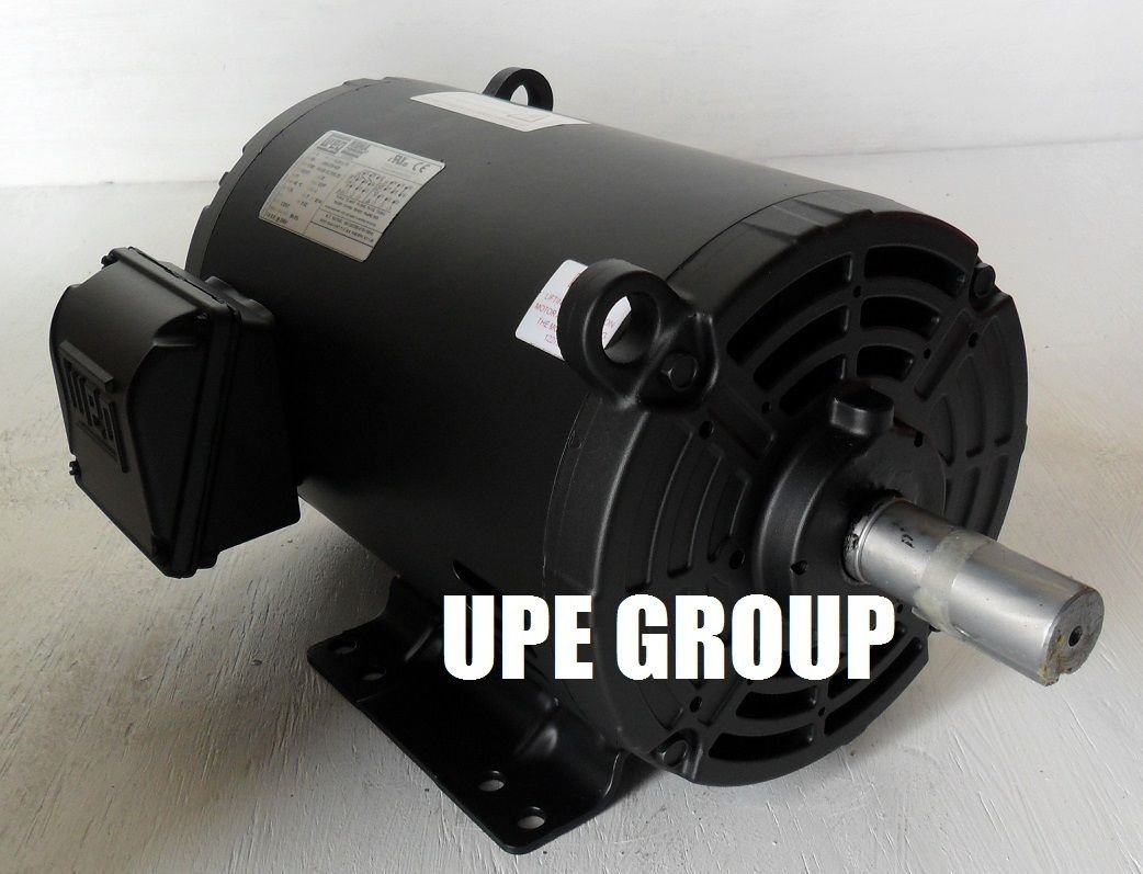 NEW 5HP 184T 3 PHASE WEG ELECTRIC MOTOR AIR COMPRESSOR 1760 RPM 208 ...