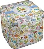 RNK Shops Animal Alphabet Cube Pouf Ottoman - 13'' (Personalized)