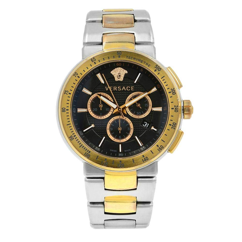 Versace Mystique Quartz Male Watch VFG100014 (Certified Pre-Owned) by Versace