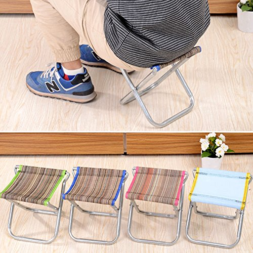 Chairs Aluminum Portable Folding Chair Stool Seat Fishing Camping Padded Outdoor