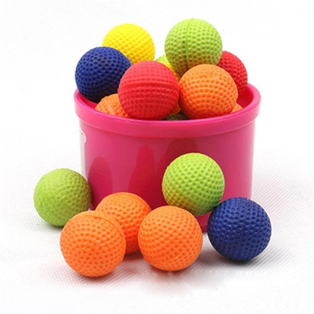 ベビーキッズゴムボールおもちゃ、20個ラウンドBullet Balls互換for Nerf Rival Apollo子おもちゃ/ギフト B078MM4MNB  ブルー