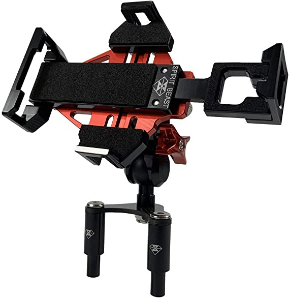 899 848 Adjustable Size Fixing Device WINDFRD Motorcycle Phone Action Camera Mount Holder for Ducati Panigale V4 1199 1299 959 939 Super Sport//S Red